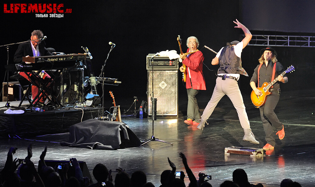 Фото с концерта Jethro Tull's Ian Anderson